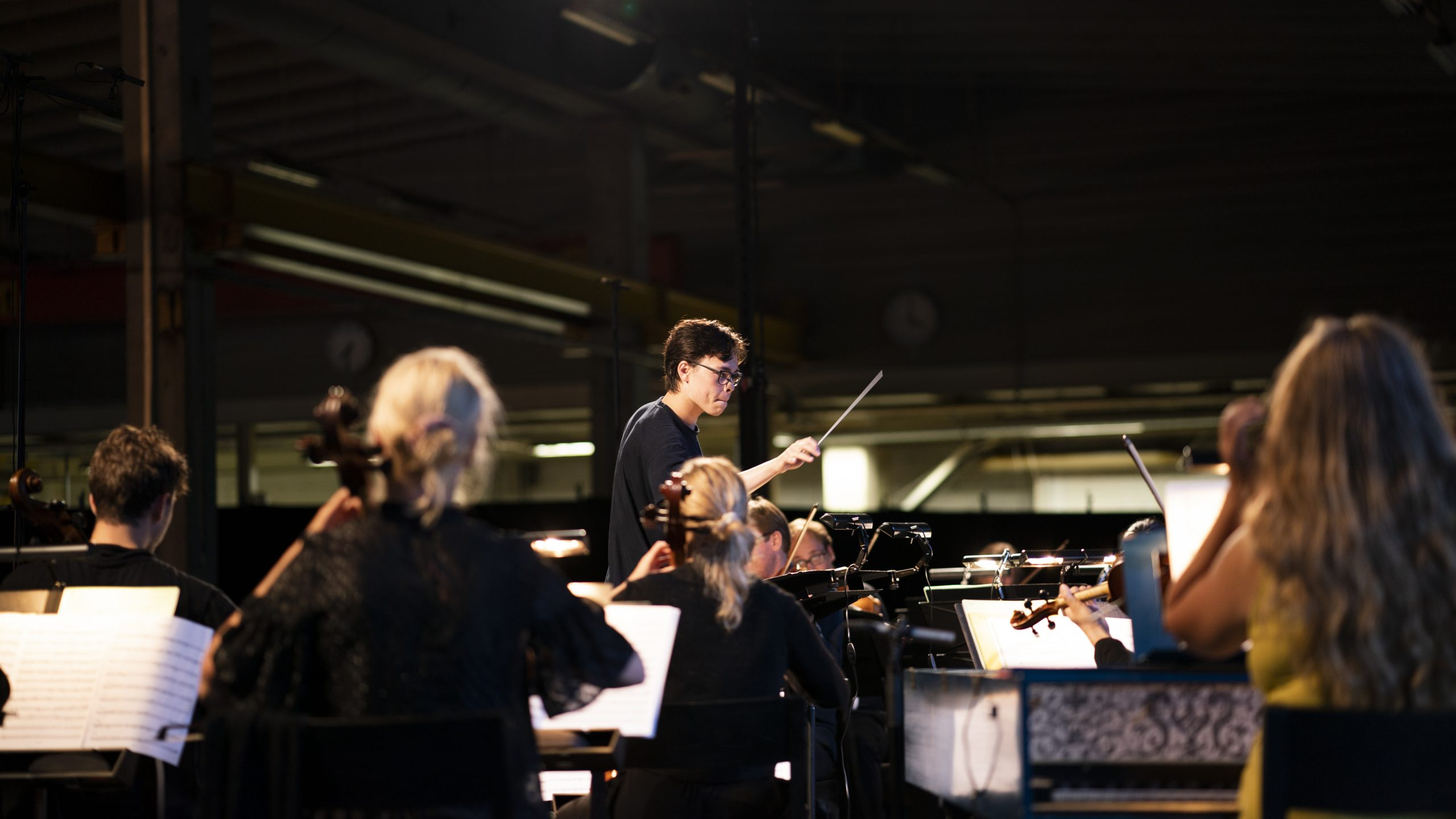 Young Conductor Conducting